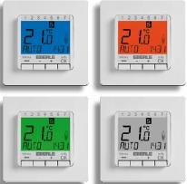...датчиком EBERLE FIT 3 Терморегулятор FIT 3 применяется для управления: обогревом комнат (при подключении...